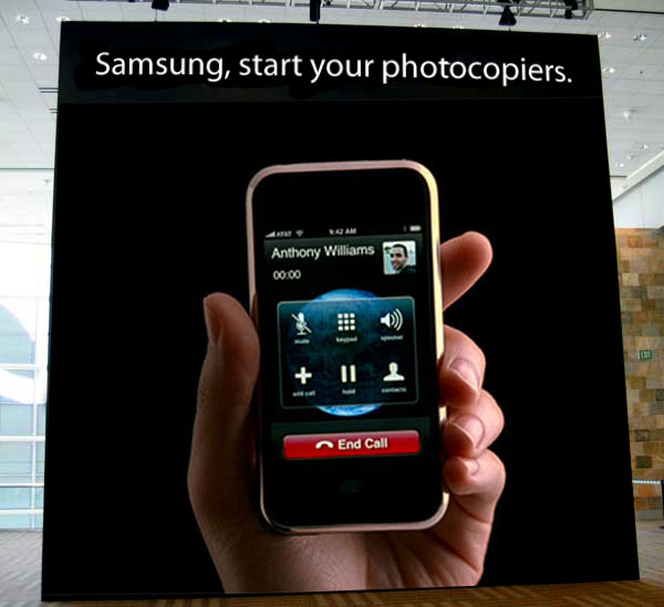 Samsung, Stop Your Photocopiers. (And Apple, Stop Your Lawyers)